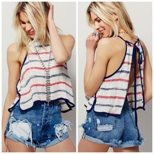 Free People Serendipity Striped Tank
